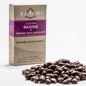 Satori Chocolate Raisins Image