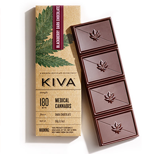 Kiva Blackberry Dark Chocolate Image