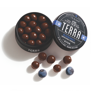 Kiva Terra Bites ~ Chocolate Covered Blueberries Image