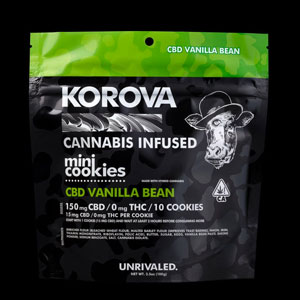 Korova CBD mini cookies