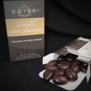 Satori Chocolate Almonds Image