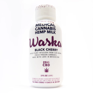 Waska 25mg CBD Black Cherry - Out of Stock Image
