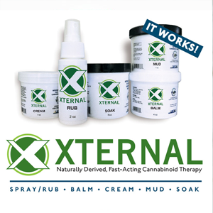 Xternal ~ Spray Rub, 2oz Image