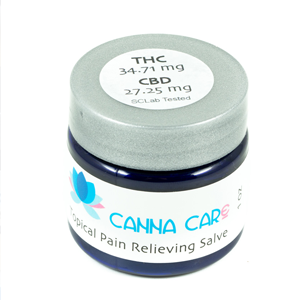 Canna Care Topicals ~ Pain Relieving Salve, 1oz Image