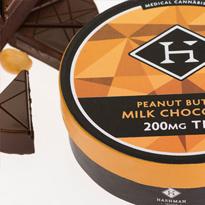 Hashman ~ Peanut Butter Milk Chocolate Image