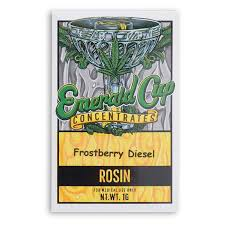 Emerald Cup Rosin ~ Frostberry Diesel Image