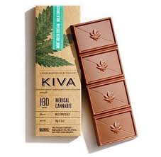 Kiva Mint Irish Cream Bar Image