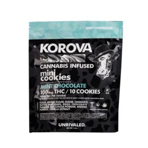 Korova Mint Chocolate Cookies Image