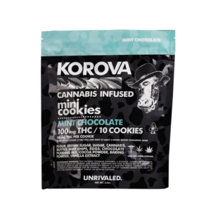 Korova Mint Chocolate Cookies Image
