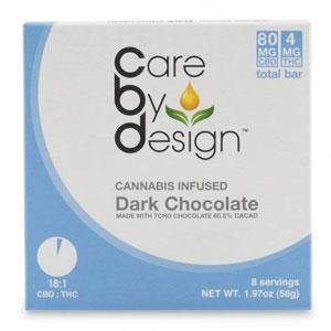 CBD 18:1 Dark Chocolate Bar Image