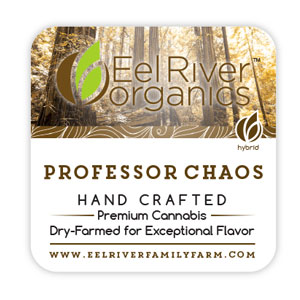 Eel River Organics Vape Cartridges ~ Professor Chaos Vape Image