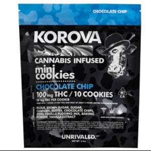 Korova Chocolate Chip Mini Cookies Image