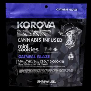 Korova Oatmeal Glaze Mini Cookie Image