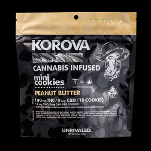 Korova Peanut Butter Mini Cookie Image