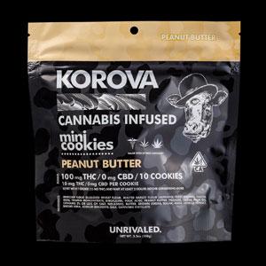 Korova Peanut Butter Mini Cookie Image