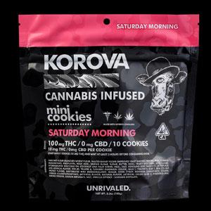 Korova Saturday Morning Mini Cookie Image