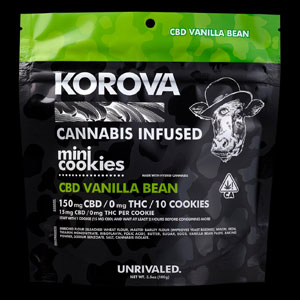 Korova Vanilla Pure CBD Mini Cookie Image