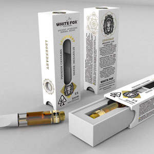 White Fox Atmospheres Vape Cartridges ~ Legendary for Men Image