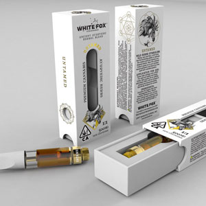 White Fox Atmospheres Vape Cartridges ~ Untamed for Women Image