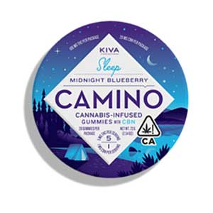 Kiva ~ Camino Midnight Blueberry Image