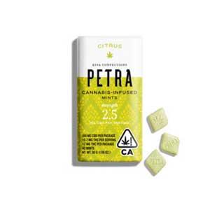 Kiva Petra CBD Citrus Mint Image
