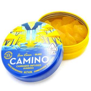 Kiva ~ Camino Kuzu Lemon (THC/CBD) Image