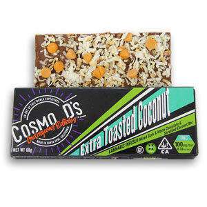 Cosmo D's Extra Toasted Coconut Chocolate Bar Image
