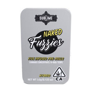 Sublime Naked ~ Hybrid Image